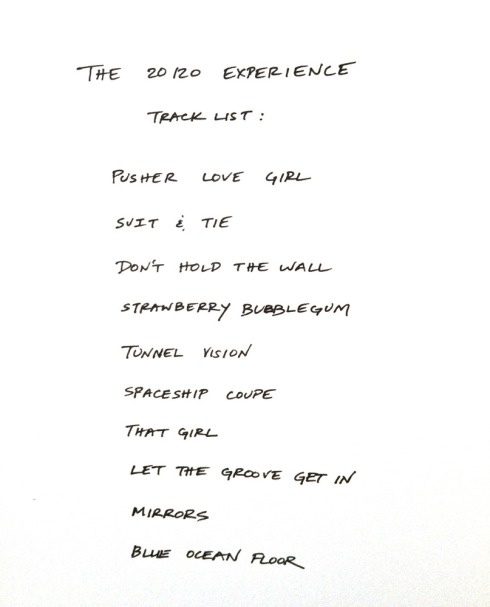 the-20/20-experience-tracklist