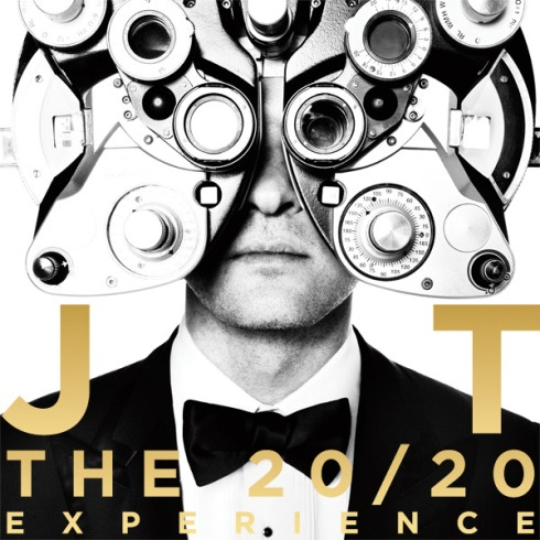 THE 20/20 EXPERIENCE ALBUM COVER